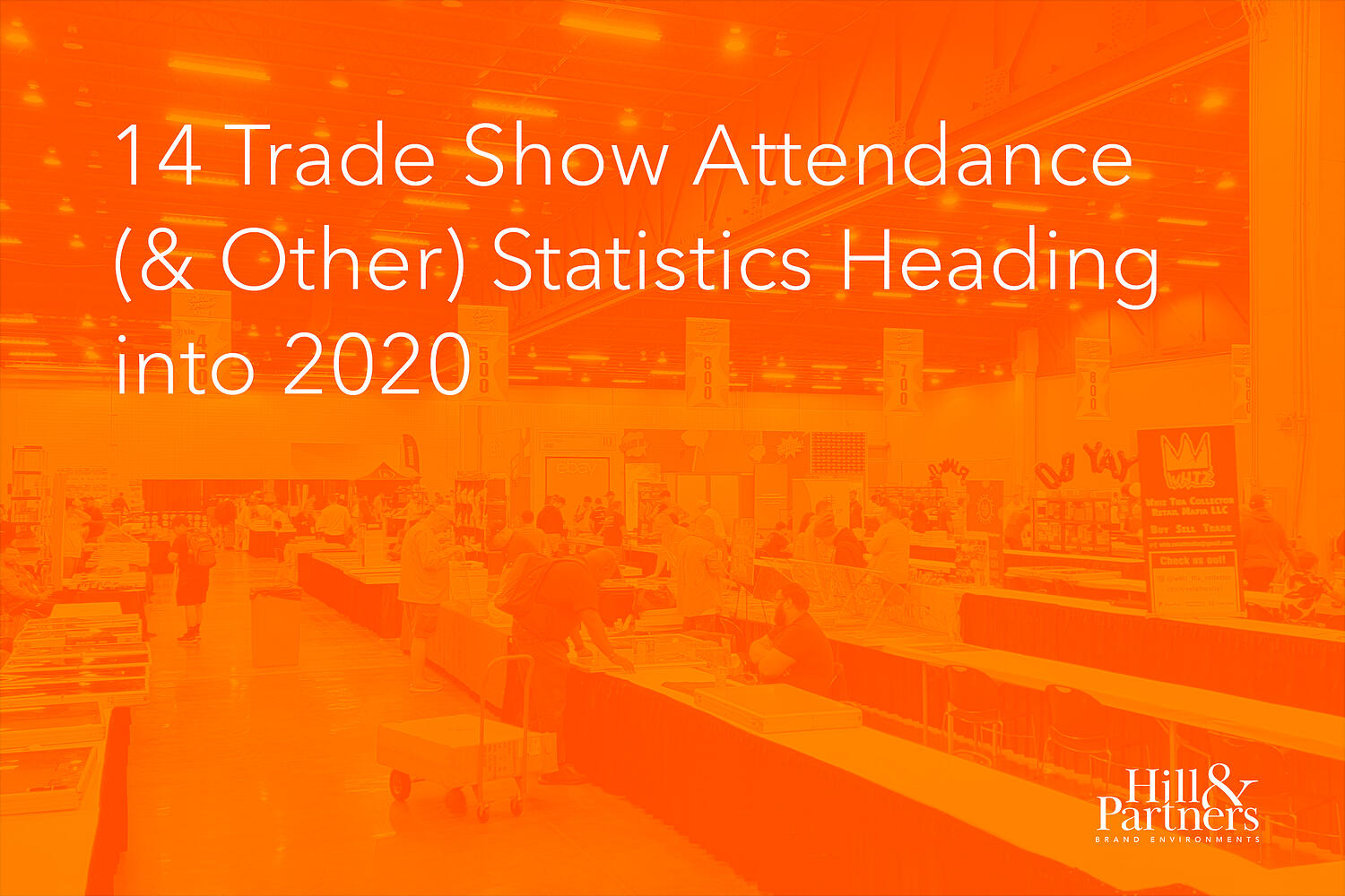 14 Trade Show Attendance (& Other) Statistics Heading Into 2020