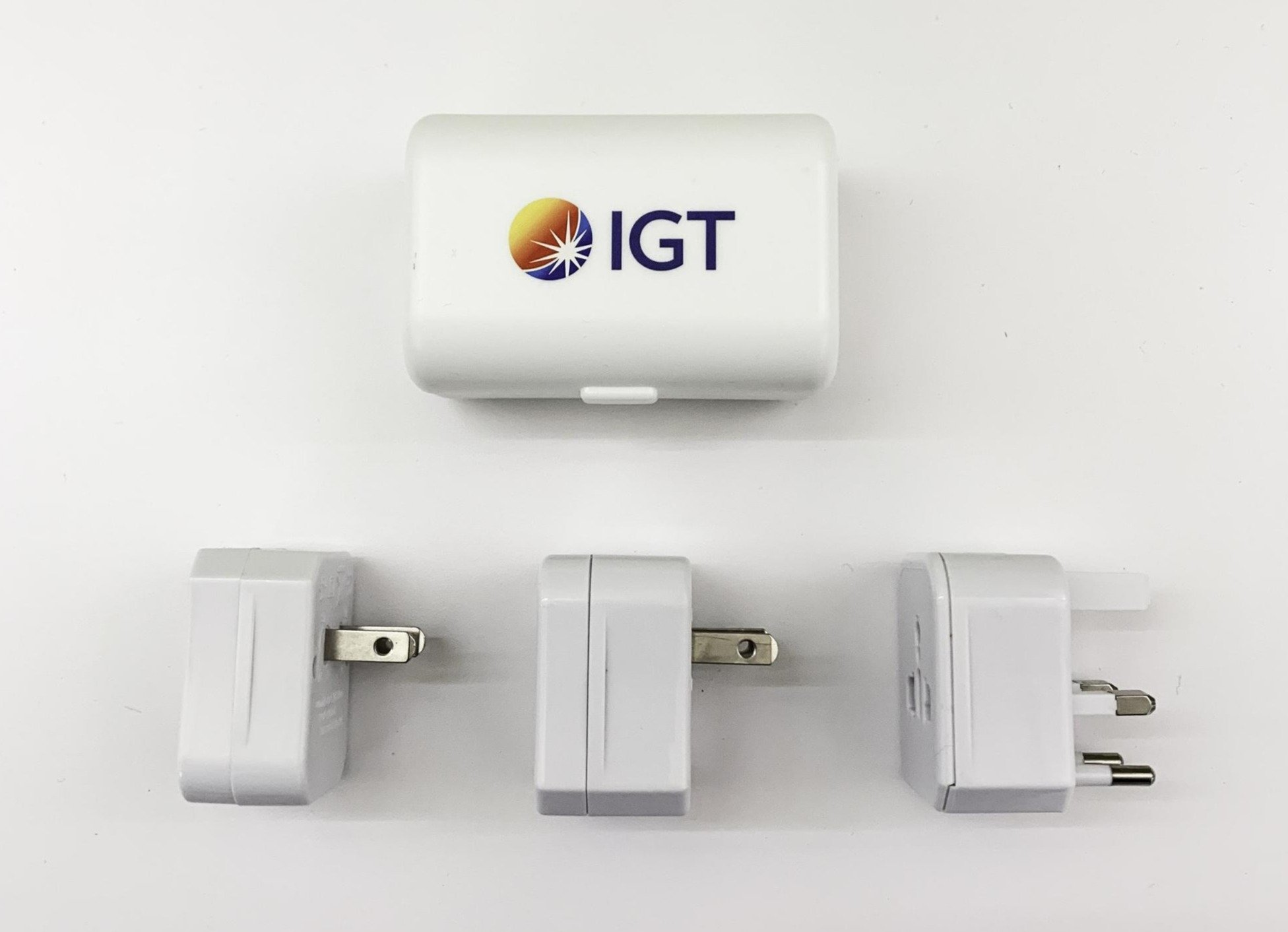 Branded travel adapters