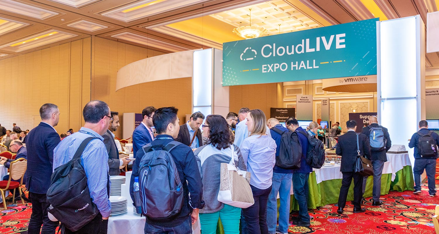 CloudLIVE expo hall