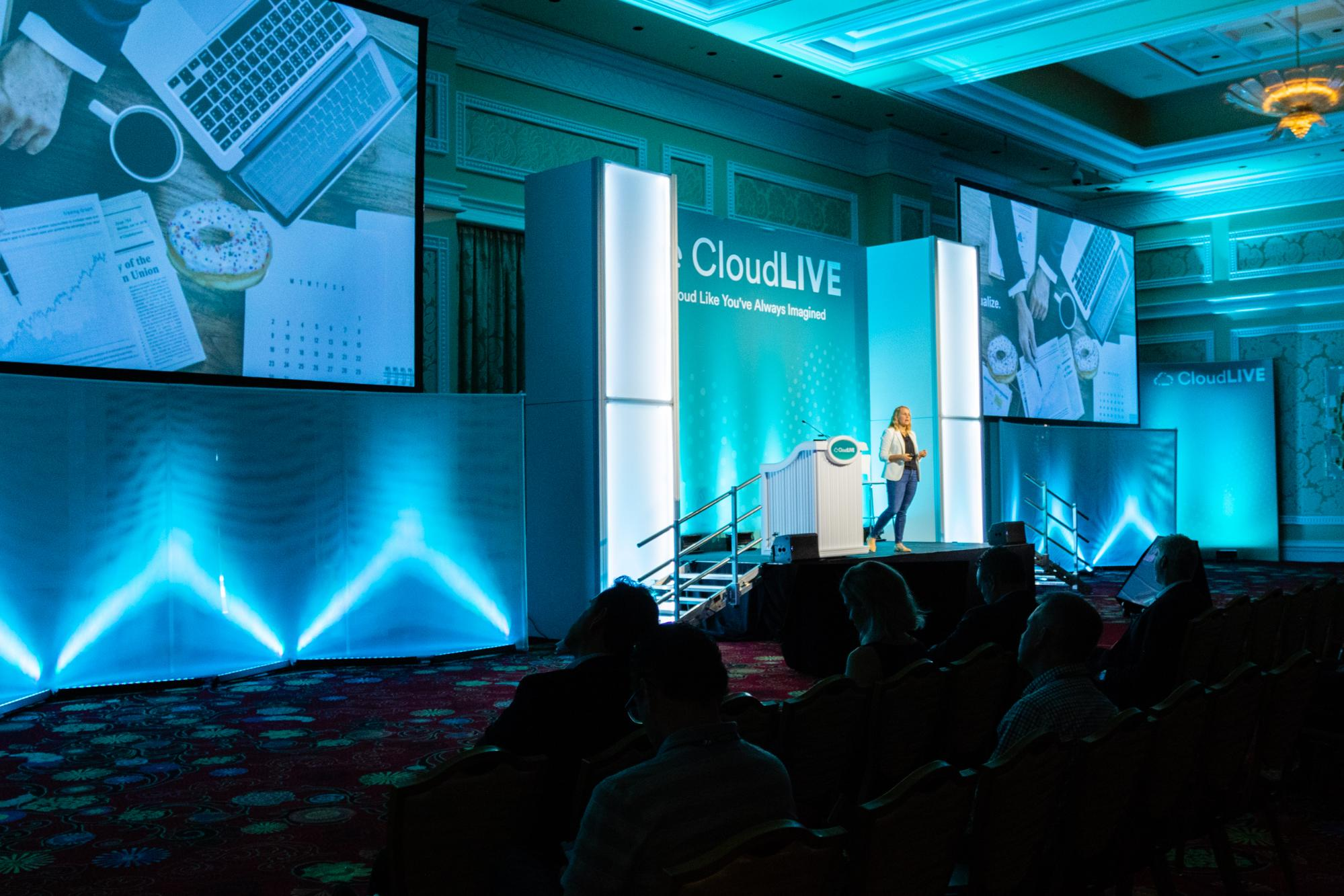 CloudLIVE session hall