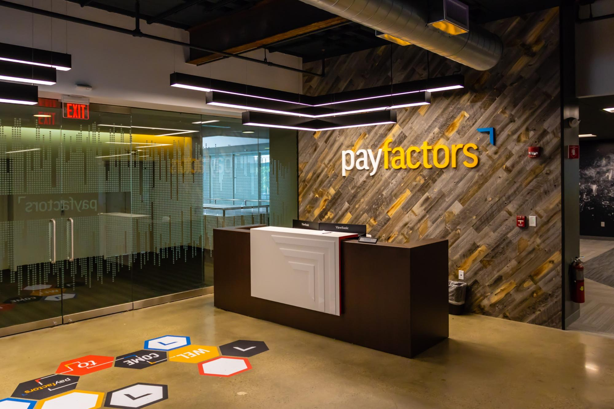 Payfactors' front lobby