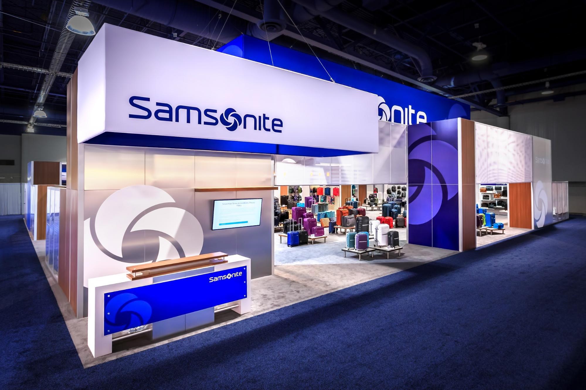Samsonite's Branded Environment