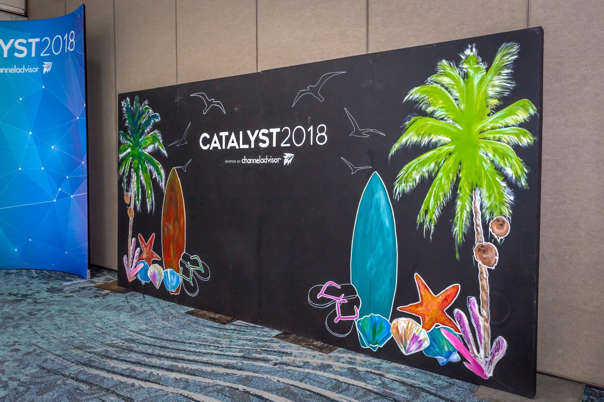 Vacation giveaway (branded backdrop)