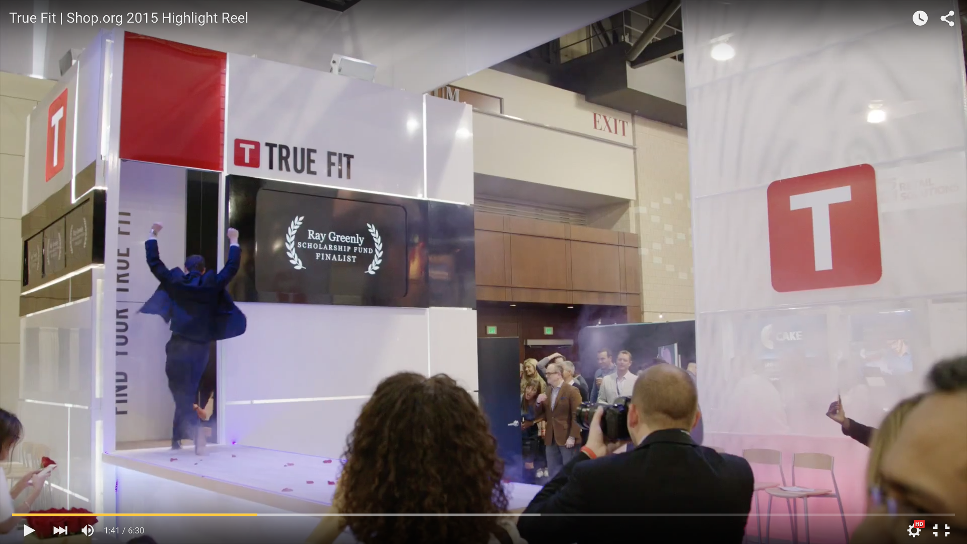 Click to Watch True Fit Booth & Fashion Show Highlights
